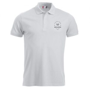 Poloshirt med tryk