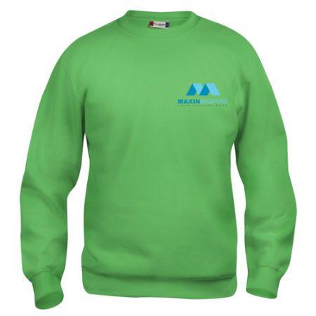 sweatshirt med tryk