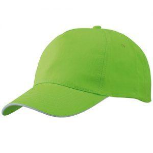Caps med logo til mænd og kvinder fra Kr. 18,- 100% bomuld. Bredt farveudvalg, rigtig transfertryk der holder godt. Broderede lufthuller.
