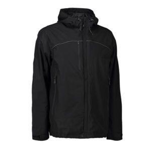 ID jakke med logo bedste kvalitet skarpeste pris profiltøj Levering 10 arbejdsdage